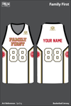 Family First Men's Basketball Jersey - SjeZrg