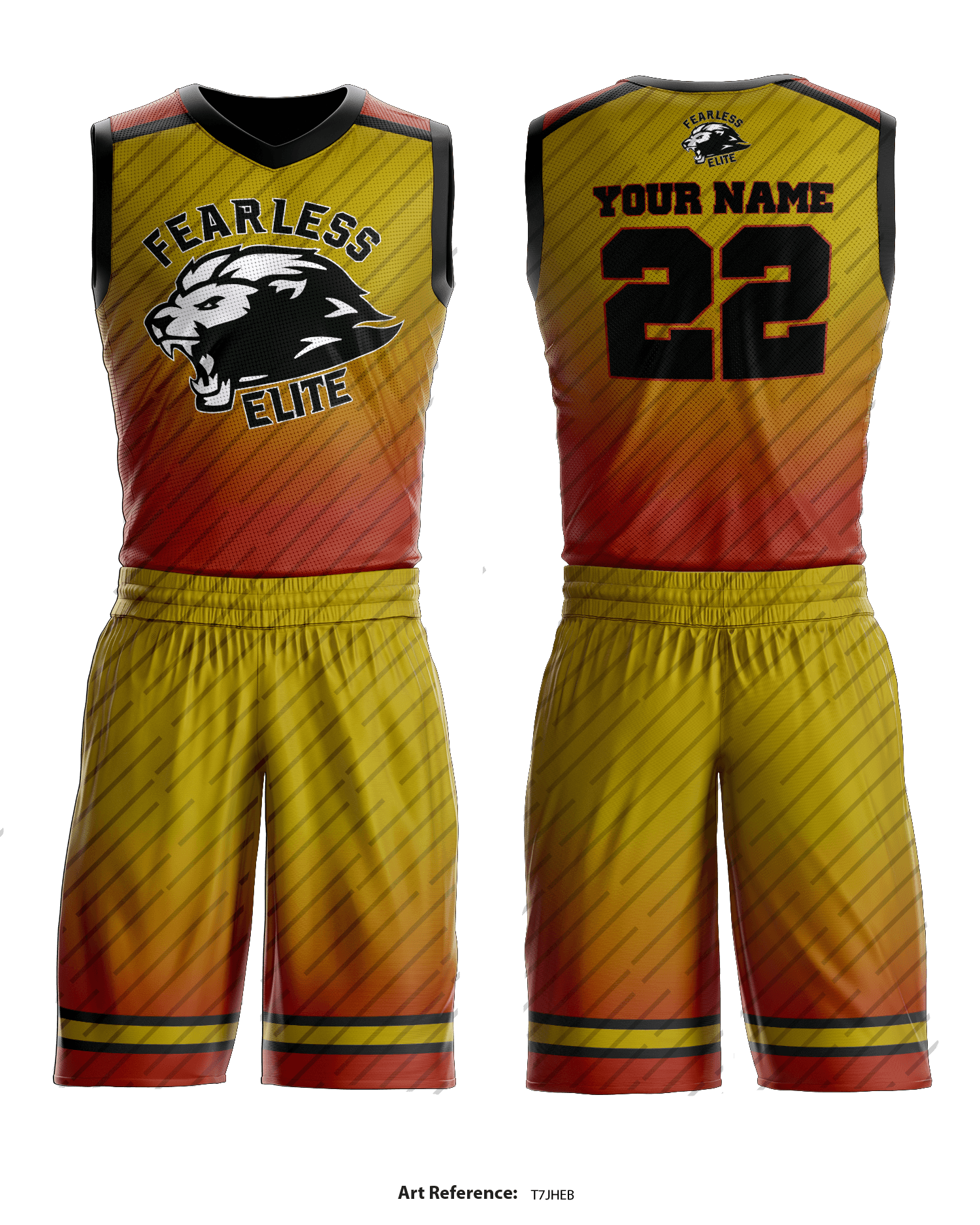 huge selection of a8f20 036a6 Fearless Elite Basketball Uniform - t7JHEb
