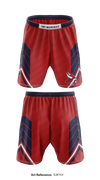 Fort Walton Beach Vikings Heavy Fight Shorts - eJeyLV
