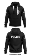 Franklin Police Department - Hoodie - 3dRe2b