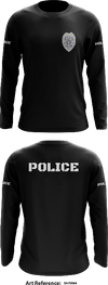 Franklin Police Department - Long-Sleeve Hybrid Performance Shirt - skF8Ma