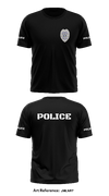 Franklin Police Department - Short-Sleeve Hybrid Performance Shirt - jmLnr7