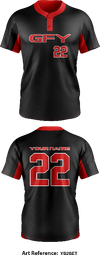 GFY Two Button Softball Jersey - Yb2bet