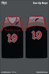 Gas up boyz Men's Basketball Jersey - 7DUCqU