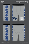Georgetown Prep Compression Shorts - ep9V2K