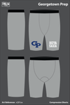 Georgetown Prep Compression Shorts - xQPUsa