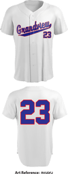 Grandview Expos Full Button Baseball Jersey - rVudfJ