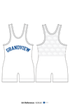 Grandview Wolves Men's Track Singlet -4LfeUd