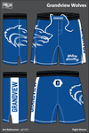 Grandview Wolves Heavy Fight Shorts - sgFUF6