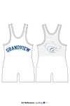 Grandview Wolves Men's Track Singlet - wu9Kug