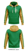 Greensburg Goldenhawks football organization Hoodie -U8uUpz