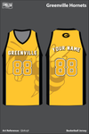 Greenville Hornets Men's Basketball Jersey - QbKrq9