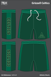 Grizzell MS Celtics Athletic Shorts - 8LRhmE