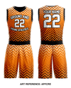 Ground & Pound ATHLETICS Basketball Uniform -aPFCre