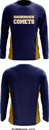 Hackensack Comets - Long-Sleeve Hybrid Performance Shirt - DgqDU9