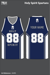Holy Spirit Spartans Men's Basketball Jersey - sWdRFL