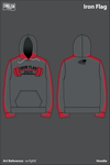 Iron Flag Athletic Performance Hoodie - wvTgNZ