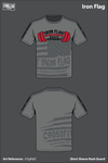 Iron Flag Athletic Performance Short Sleeve Rash Guard - UYgAbD