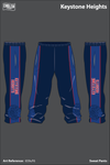 Keystone Heights Wrestling Sweatpants - 659uF6