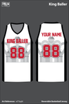King Ballers Men's Basketball Jersey - wTYqqN & zbc4QL