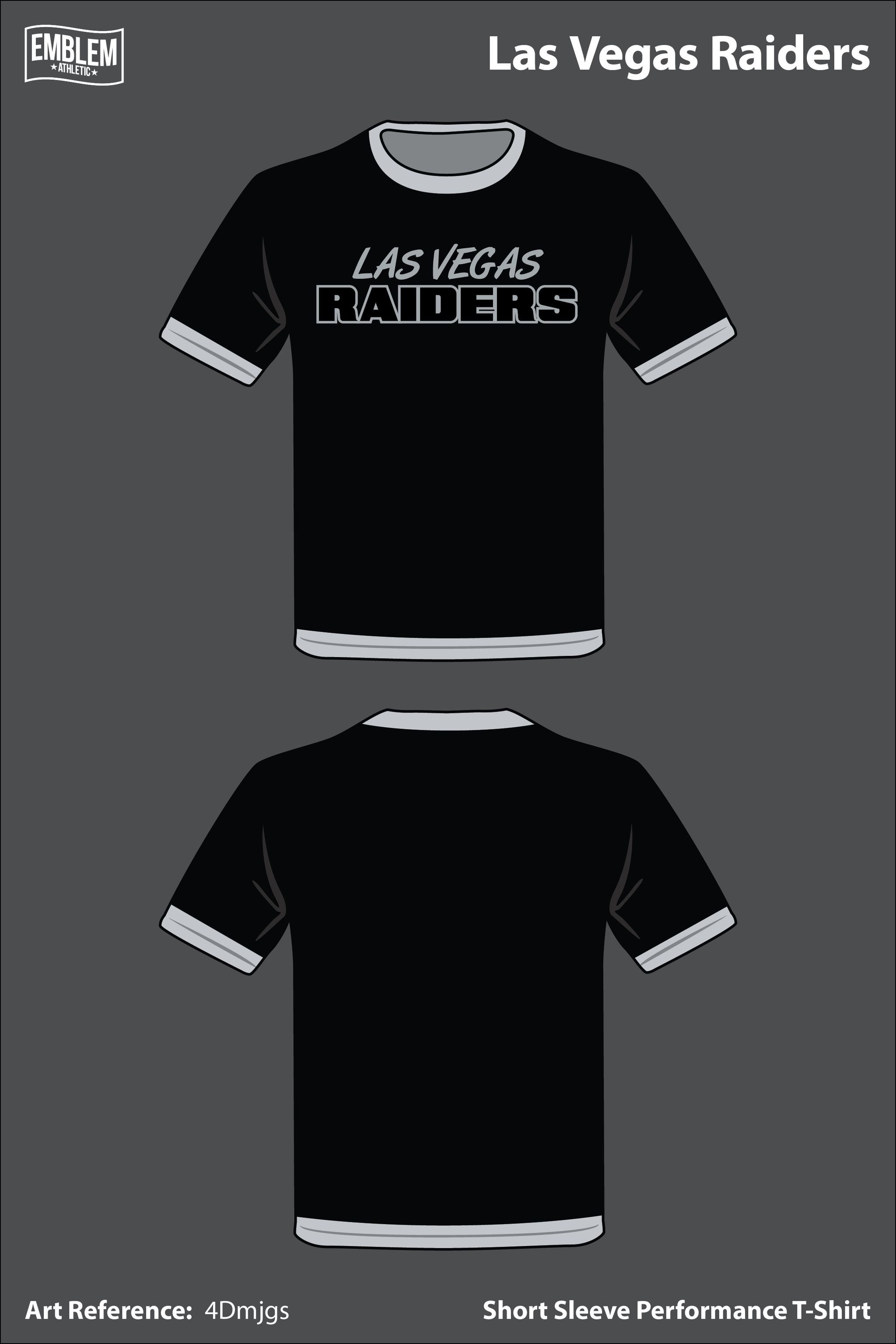 1908cd3f9c7 Las Vegas Raiders Men s Short-Sleeve Performance Shirt - 4Dmjgs ...