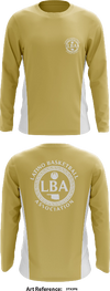 Latino Basketball - Long-Sleeve Hybrid Performance Shirt - 3tX2f6