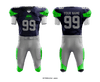 Lorain Raging Titans Football Uniform - J6b2Dz