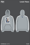 Lorain Junior Titans Football Hoodie - szk7Am