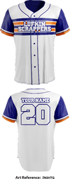 Lufkin Scrappers Full Button Baseball Jersey - ZN3HTq
