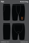 M.A.D Dog Compression Shorts - 9R6SrX