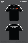 Machine Q Men's Short-Sleeve Performance Shirt - sM4pmM