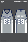 Man II Man Men's Basketball Jersey - VzTqDg