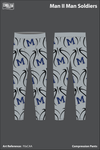 Man II Man Compression Leggings - F6sCAA