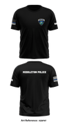 Middleton Police Short-Sleeve Performance Shirt -HZ8fNt