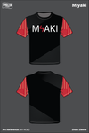 MIYAKI Short-Sleeve Performance Shirt - wYWJd2