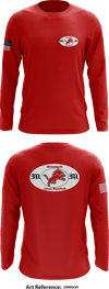 Monongah Lions Store 1 - Long-Sleeve Performance Shirt - GrMqqH