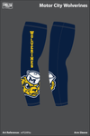Motor City Wolverines Arm Sleeve - wPGMNa
