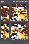 Mt Pleasant Panthers Light Fight Shorts - Rc4WnZ