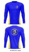 New Washington Mustangs Long-Sleeve Performance Shirt - SR5Bzr