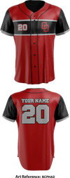 O Dawgs Baseball Full Button Baseball Jersey - bcpHAD