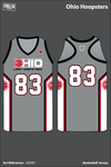 Ohio Hoopsters Razerback Reversible Basketball Jersey - sSkXKS