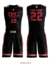 OLH Team Impact Women's Reversible Basketball Uniform - 6Fxz4B & vQG7WT