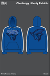 Olentangy Liberty Patriots Football Hoodie - XtQwLZ