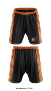 Oliver Ames Tigers1 Heavy Fight Shorts - Ccp98D