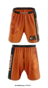 Oliver Ames Tigers1 Heavy Fight Shorts - Q8AE6W