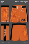 Oliver Ames Tigers Heavy Fight Shorts - 6m4QHj