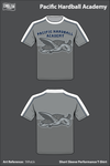 Pacific Hardball Academy Short-Sleeve Performance Shirt - 5VhzLk