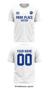 Park Place Middle School Short-Sleeve Soccer Jersey - jcRjFW