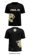 Paul VI Panthers Short Sleeve Rash Guard - MCfFRC