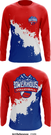 Powerhouse Volleyball Store 1 Long-Sleeve Hybrid Performance Shirt - GtSR6H